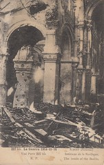 Basilique Notre-Dame de Brebires, Albert, Somme, Picardie, 1918. (Only Tradition) Tags: france frankreich frana frankrijk ww1 80 francia franca picardie somme franciaorszg  frana