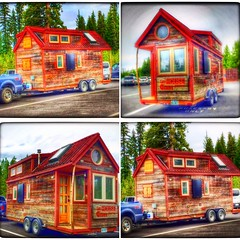 """Tiny home; Giant journey"" (Sherrianne100) Tags: unique yellowstone trailer tinyhome travelhome"