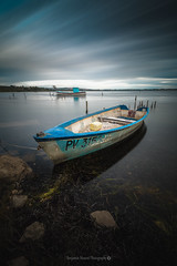 Remain @Bages (Benjamin MOUROT) Tags: longexposure france nature french landscape boat view pov bateau paysage lente aude francia narbonne gruissan barque peyriacdemer bages languedocroussillon filtre poselongue nd1000 nd110 retardateur photoshopcs3 1018mm faguo canon70d benjaminmourot lightroom5