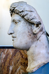 o fortuna (mym) Tags: rome statue head cult colossal fortunahuiuscediei areasacradilargoargentina centralemontemartini