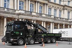 Scania R500 (Alexandre Prvot) Tags: construction construccin lorraine worksite buildingsite travaux chantier cugn grandnancy baustellebauplatz