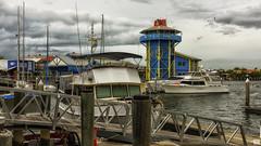 The Wharf (BAN - photography) Tags: clouds marina buildings boats harbour piers wharf pylons masts pontoon mooloolaba d810