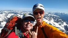 Full alpine stoke after climbing the classic NE Buttress on Black Peak! #blackpeak #northcascades #alpineclimbing #BOEALPSICC (Luke W Shy) Tags: northcascades blackpeak alpineclimbing boealpsicc