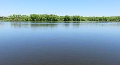 Mississippi River (Wabasha, Minnesota) (courthouselover) Tags: minnesota wisconsin landscapes mississippiriver mn wi wabasha buffalocounty wabashacounty