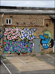 Seb / Mean / Dscreet (Alex Ellison) Tags: seb ncc mean pfb dscreet dubltrubl hackneywick eastlondon urban graffiti graff boobs