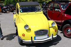 Citron 2cv (alex73s https://www.facebook.com/CaptureOfAlex?pnr) Tags: auto old classic car yellow jaune canon french automobile european francaise transport citroen meeting automotive voiture retro coche 2cv oldcar macchina ancienne vehicule deuche rassemblement deudeuche europeenne