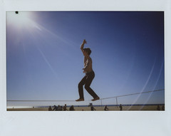 (Faulkner Short) Tags: venice wide son rope flare effect bluemoon instax clayden
