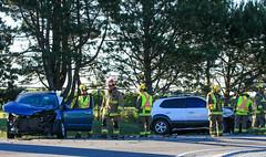 Minor Collision in Jordan (Shane Murphy - Photojournalist) Tags: accident crash jordan lincoln ontario fire department collision mvc mva minor scene canada