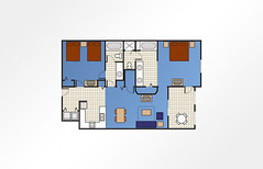 Harbour Lights™ 2-Bedroom - 1,150 sq ft