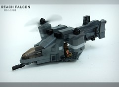 Halo Reach Falcon [UH-144] ([Stijn Oom]) Tags: new 3 brick dutch alexandria shot lego 4 halo legos falcon reach build timer mombasa sluitertijd