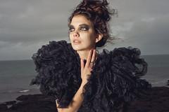 (Helga SY) Tags: sky tears wind makeup emotions onlocation elitemodels reykjavikfashionacademy