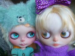 Snoogles & Glum Von Plum are dear friends!