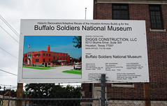 Historic New Role for Houston Light Guard Armory, 3816 Caroline, Houston, Texas 1204151515 (Patrick Feller) Tags: county light black building history museum architecture buffalo texas district military negro guard caroline houston historic midtown national american africanamerican soldiers harris armory