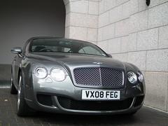 Bentley continental GT (arthur doyle photography) Tags: dublin car finepix fujifilm gt supercar bentley sportscar britishsportscar carspotting bentleycontinentalgt hs10 grandtourer worldcars