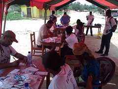 """Free health screening day 3. • <a style=""""font-size:0.8em;"""" href=""""http://www.flickr.com/photos/48668870@N02/6951105032/"""" target=""""_blank"""">View on Flickr</a>"""