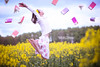 Love is in the Air - Jump #77 of #100 (Olivia L'Estrange-Bell) Tags: canon countryside spring jump jumping unitedkingdom dorset jumps englishcountryside rapeseed flyingbooks rapeseedfield nicholassparks 1dmarkiii oliviabell booksflying 100jumps nicholassparksbooks tbsart