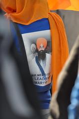 on the back (jasleen_kaur) Tags: indian protest sikh tee consulate khalsa shaheed khalistan panth embassysanfranciscoorange shirtbalwantsinghrajoana