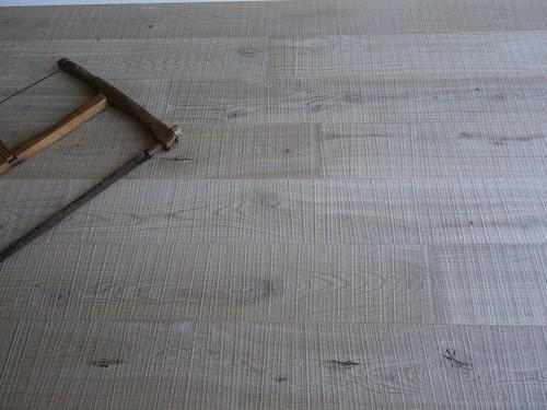 Roble rústico con corte de sierra Cottage (4)