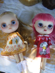 Tracey's stunning China lilly custom girls! Just for the record the golden haired girl is totally a Mini me of Tracey!