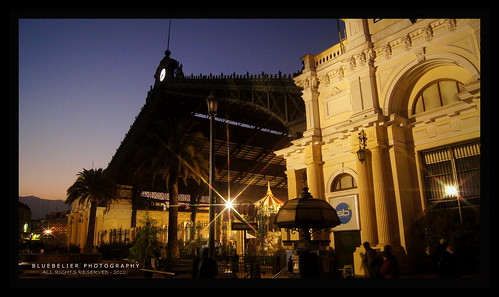 Before the Sun Rises - The treasure where my heart is going now - Estación Central - Santiago de Chile