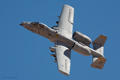 USAF Fairchild-Republic A-10 Thunderbolt II (Tom_Morris Photos) Tags: republic usaf fairchild usairforce a10 thunderboltii barrymgoldwaterrange