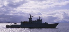 K/V Nordkapp W320 (GeirB,) Tags: film nikon ship navy scanned nikkor naval slides fujichrome lynx maritim øvelse bordercontrol nordland helikopter navalship kystvakt kystvakten kvnordkapp norwegiancoastguard kv320