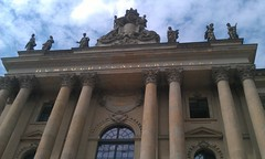 Humboldt University library, Berlin - June 2012 (Pub Car Park Ninja) Tags: berlin beer june germany university die side grand des reichstag german segway alexanderplatz fernsehturm bier jews murdered friedrichstrasse house concert 2012 juden zu fr currywurst library tucher memorial tower june memorial ermordeten east james briggs gallery berlin museum wall humboldt dome tv europe berlin gate university bear cathedral bike bierbike revenge dom bunker holocaust bier brandenburg berliner checkpoint charlie altes denkmal westin 2012 europas hitlers holocaustmahnmal humboldtuniversitt rache papstes popes reichstag