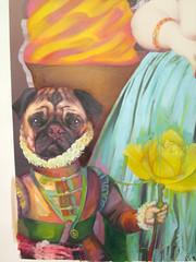 Zoom in - Dog Madame Pipi Cucu (Fer Escalada) Tags: arte kitsch diseo elegante barroco divertido francs distinguido