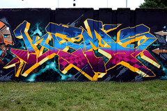 GANG STAR (ALL CHROME) Tags: canon graffiti explorer explore kemer kem einhoven 2102 ironlak allchrome kem5 kems kemr