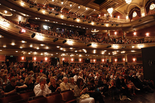 The interior of the Festival Theatre for the European Premiere of Brave