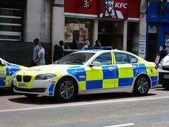 City of London Police BMW (stavioni) Tags: city london car demo police f10 demonstration bmw 5series battenberg 477 lc12ffj