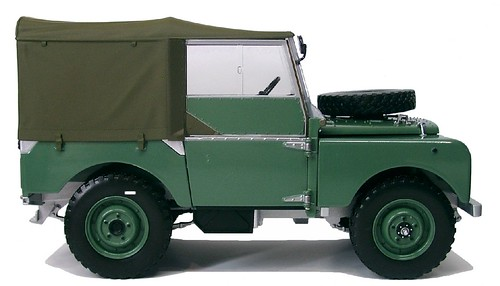 Minichamps Land Rover