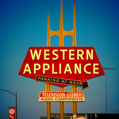 Western Appliance, Plate 3 (Thomas Hawk) Tags: california usa neon unitedstates 10 unitedstatesofamerica sanjose fav20 fav30 southbay westernappliance fav10 fav25 superfave