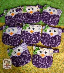 Necessarie Coruja Purple (Ma Ma Marie Artcountry) Tags: owl coruja patchwork crafting tecido necessaire portamoeda portacelularportatreco