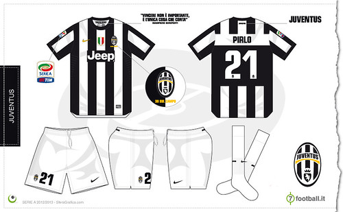huge discount 45c9c b9baa Juventus home kit 2012/2013 - a photo on Flickriver
