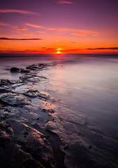 Getting it all back (Jonathan Combe (Thank you for 400,000 views!)) Tags: summer england sun beach water sunrise landscape photography dawn landscapes warm vibrant east northumberland northumbria northsea northeast eastcoast 10stop 110nd sonyslta35 sonya35