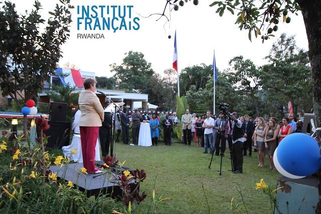 14 juillet 2012 à Kigali