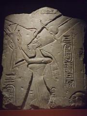Akhenaten (Aidan McRae Thomson) Tags: sculpture ancient relief oxford egyptian akhenaten ashmolean elamarna akhetaten amarnan