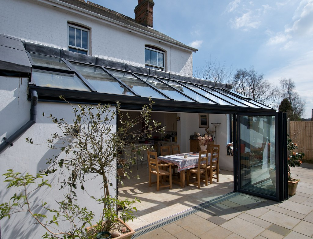 79bd9c57ac1 Lean-to Extension (Architecture in Glass by AproposUK) Tags  glass  architecture conservatory