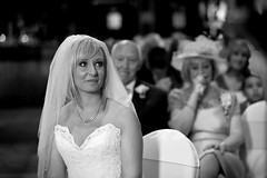 Emotion (Rafe Abrook Photography) Tags: wedding white church bride tears veil emotion crying ceremony bridesmaids speech marraige motherofbride barnshotel