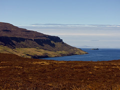 somewhere in the north () Tags: trip travel blue sea sky panorama skye green canon landscape geotagged island scotland mare viewpoint isola scozia