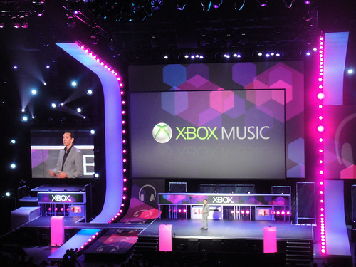 E3 Expo 2012 - Microsoft Press Event - Xbox Music