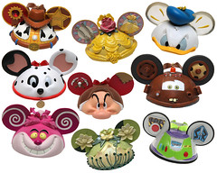 Ear Hat Ornament Collection at Disney Parks (Hilda Chui) Tags: christmas hat disney mickey ornament ear decorate