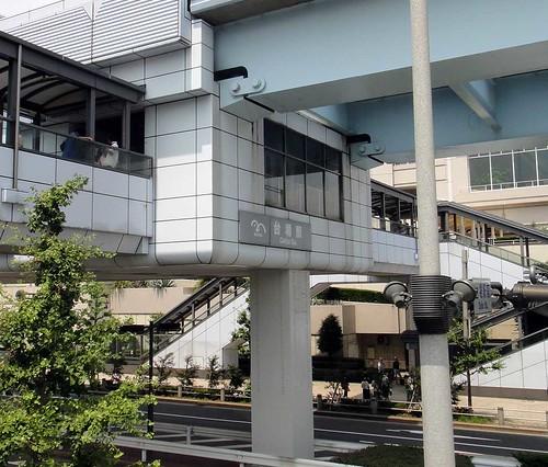 20120729お台場bbq〜台場駅