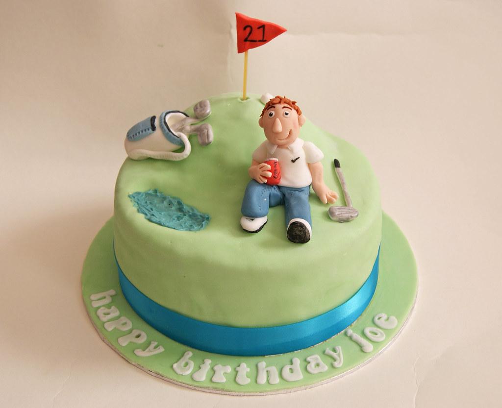 Golf Birthday Cake Rosie