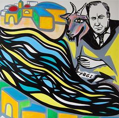 goat's eye (MATLAKAS) Tags: milano paintings biagiolaspadaladro biagiolaspada consiglierebiagiolaspada desiobiagiolaspada ladrobiagiolaspadamilano italiabiagiolaspada