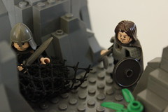 """Come to Master"" (MasterMinifig) Tags: lego contest gollum lordoftherings frodo"