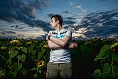 strobist: premiers pas 1 (Jerome Pouysegu) Tags: landscape autoportrait flash 5d softbox nissin strobist