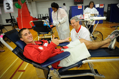 Back-to-school blood drive