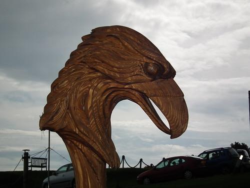 Ferocious Longboat Carving